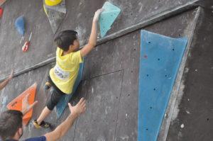 Darius Rapa, Petzen escalada
