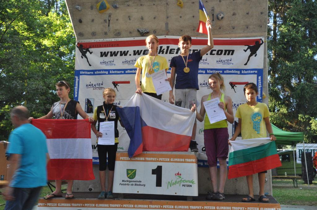 Aur pentru Romania Petzen 2016